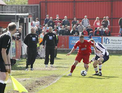 Action from vauxhall game