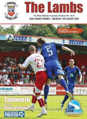 The 2009-10 TFC matchday programme