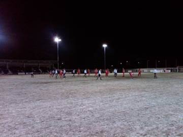 Frozen Pitch at Guiseley