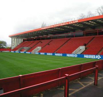 Artists Impression of New Stand